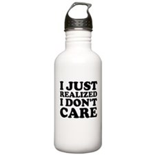 I Don't Care Water Bottle