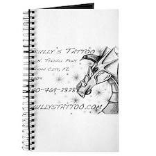 Funny Girl dragon tattoo Journal