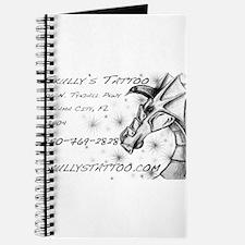 Cute Girl dragon tattoo Journal