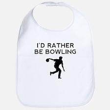 Id Rather Be Bowling Bib