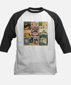 Vintage Book Cover Illustrations Baseball Jersey