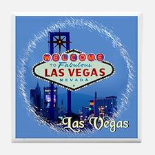 Las Vegas Night! Tile Coaster