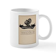 Thanksgiving Day Turkey Feast Invitation Mugs