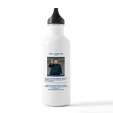 Kim Jong-un - The Inte Water Bottle