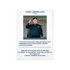 Kim Jong-un - The Interview 5'x7'Area Rug