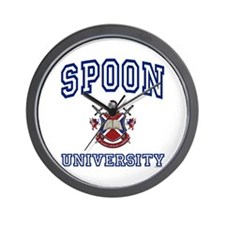 SPOON University Wall Clock