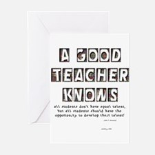 all students don't have equal Greeting Cards (Pack