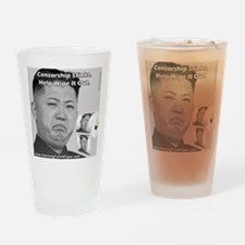 Kim Jong Un Collector's Item Toilet Drinking Glass