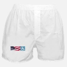 Disabld Veteran Boxer Shorts