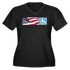 Disabld Veteran Plus Size T-Shirt