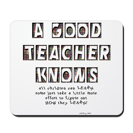 All Children Can Learn Mousepad