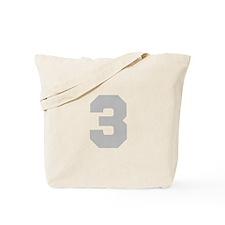 SILVER #3 Tote Bag