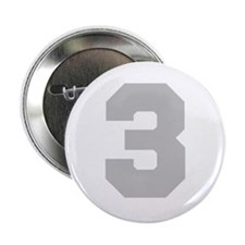 "SILVER #3 2.25"" Button"