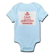 Keep calm you live in Jamestown Tennesse Body Suit