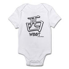 West Kanji Infant Bodysuit