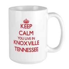 Keep calm you live in Knoxville Tennessee Mugs
