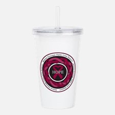 Sickle Cell Anemia Hop Acrylic Double-wall Tumbler