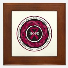Sickle Cell Anemia Hope Framed Tile