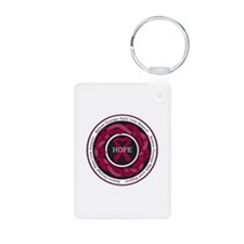 Sickle Cell Anemia Hope Aluminum Photo Keychain