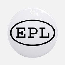 EPL Oval Ornament (Round)