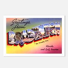 Bradenton Florida Greetings Postcards (Package of