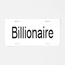 billion.jpg Aluminum License Plate