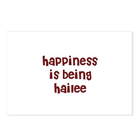 happiness is being Hailee Postcards (Package of 8)
