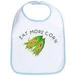 Eat More Corn Bib