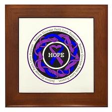 Rheumatoid Arthritis Hope Framed Tile