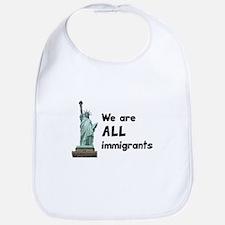 We're all immigrants Bib