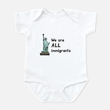 We're all immigrants Infant Bodysuit