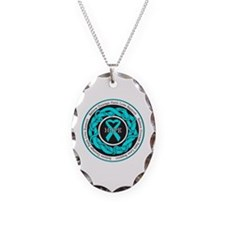 PTSD Hope Necklace Oval Charm