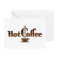 Hot Coffee Greeting Cards (Pk of 10)
