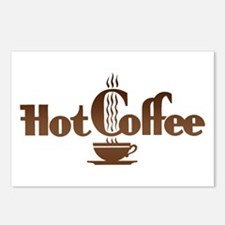 Hot Coffee Postcards (Package of 8)