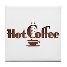 Hot Coffee Tile Coaster