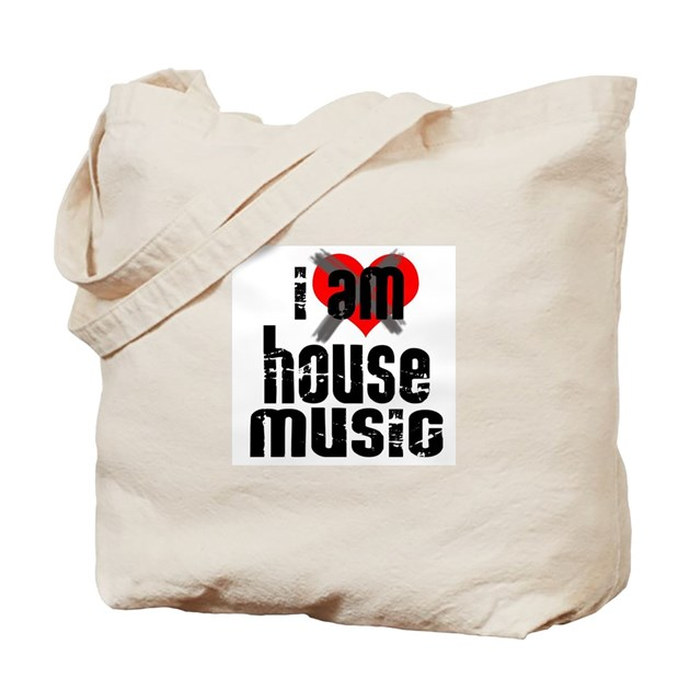 I am house music tote bag by ilovenychouse for House music 90