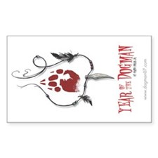 Year of the Dogman Rectangle Decal