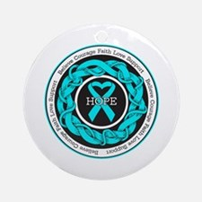 PCOS Hope Ornament (Round)