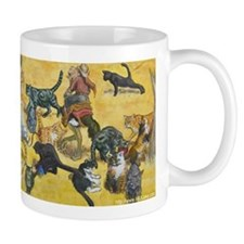 Herding Cats Small Mug