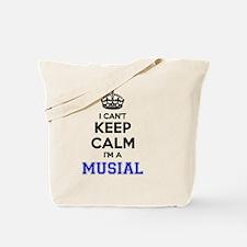 Funny Musial Tote Bag