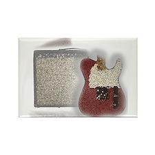 Cute Fender guitar Rectangle Magnet