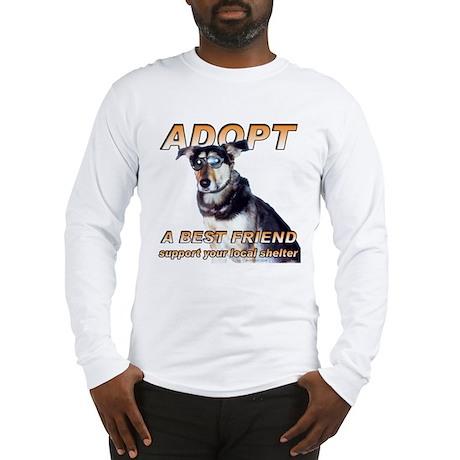 Adopt A Best Friend Long Sleeve T-Shirt
