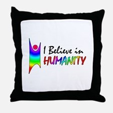 Humanist Throw Pillow