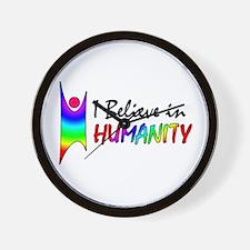 Humanist Wall Clock