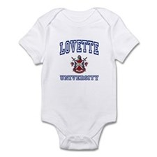 LOVETTE University Infant Bodysuit