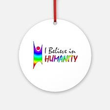 Humanist Ornament (Round)