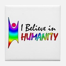 Humanist Tile Coaster