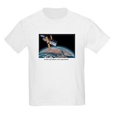 M57 The Ring Nebula Kids T-Shirt