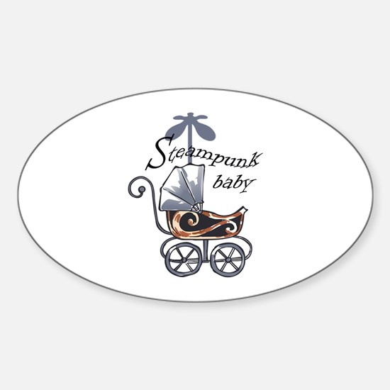 STEAMPUNK BABY Decal