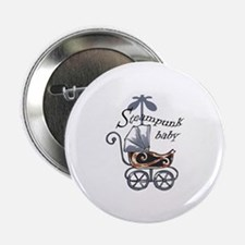 "STEAMPUNK BABY 2.25"" Button (10 pack)"